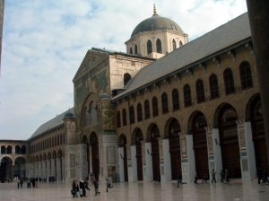 umayyad masjid,damascus,syria